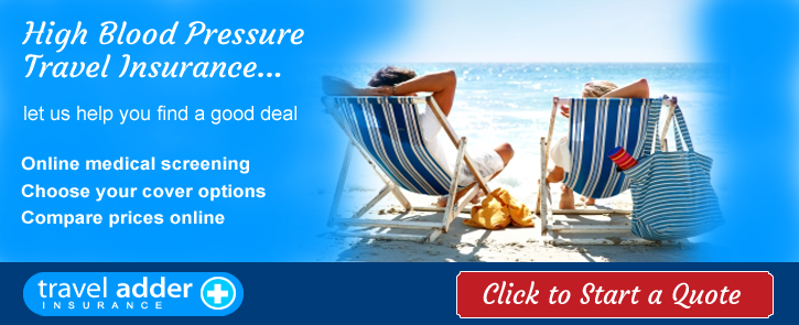 High Blood Pressure Travel Insurance
